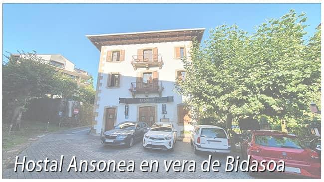 Hostal en Vera de Bidasoa y Baztan Bidasoa