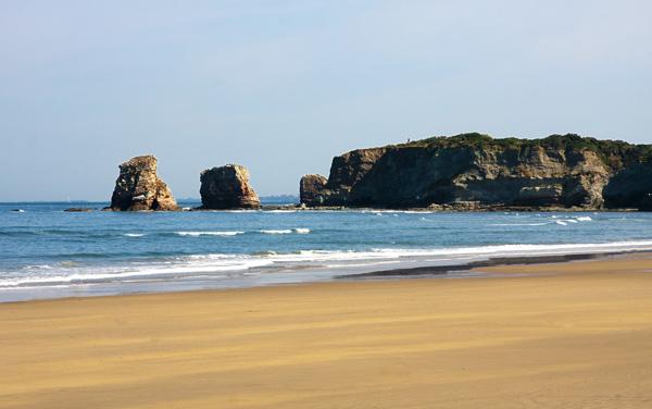 Playa Endaya - Hostal Ansonea
