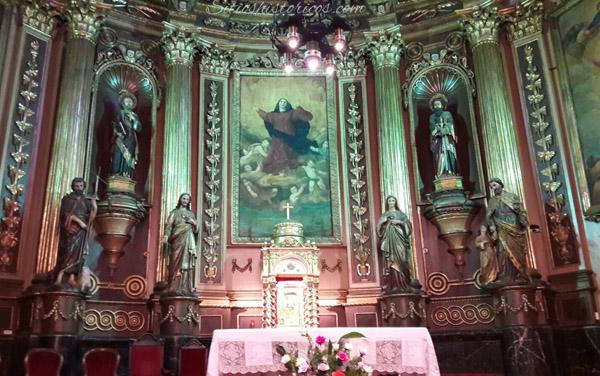 iglesia de bera interior