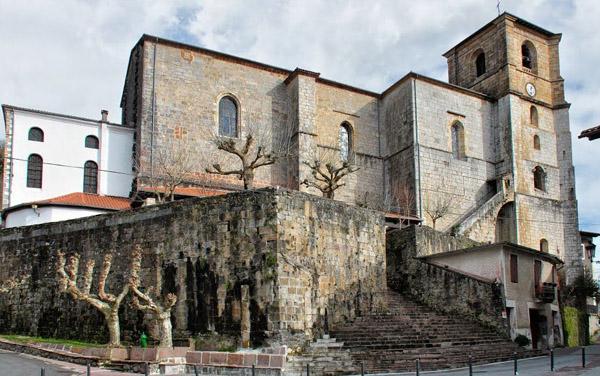 iglesia de bera exterior 1